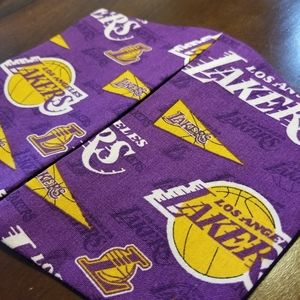 Los Angeles Lakers Cotton Facemask